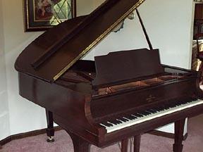 Piano Merah Mahogany
